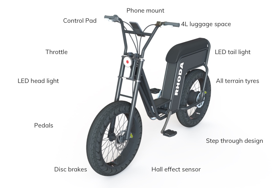 rhoda bicycle design overview
